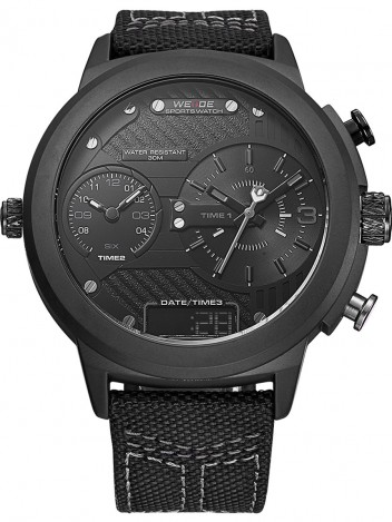 Mens Watch Bander Black