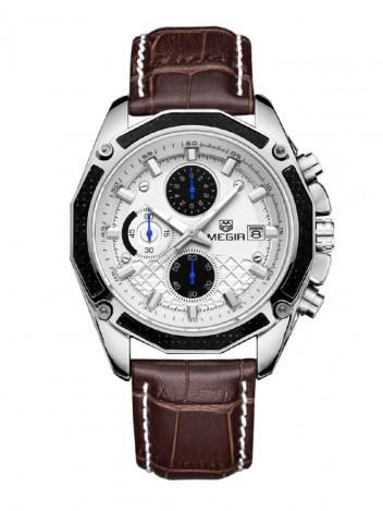 Mens Watch Polite White
