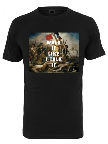 Mens T-shirt Battle Black